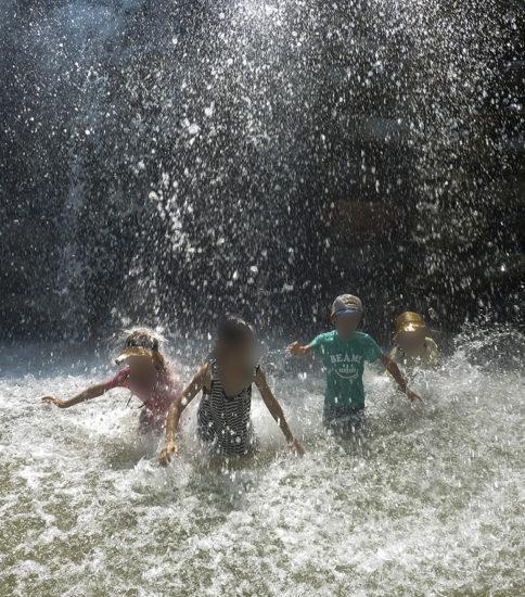 7月のイベント(アイス&水遊び)