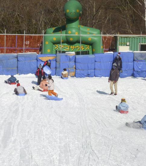 2月のイベント(雪遊び)