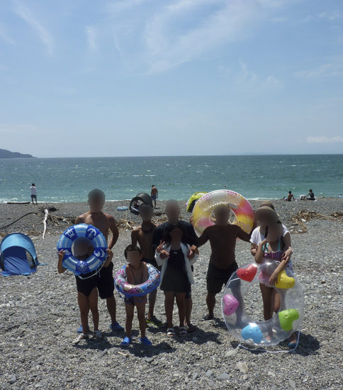 8月のイベント(海)
